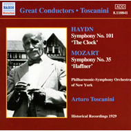 Produktbilde for Haydn: Symphony No. 101; Mozart: Symphony No. 35 (CD)
