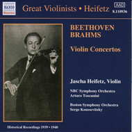Produktbilde for Beethoven.Brahms: Violin Concertos (CD)