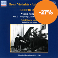 Produktbilde for Beethoven: Violin Sonatas Nos. 3, 5 and 9 (CD)