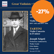 Produktbilde for Bach; Tartini: Violin Concertos (CD)