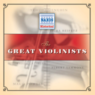 Produktbilde for The Great Violinists (CD)