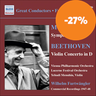 Produktbilde for Mozart: Symphony No 40; Beethoven: Violin Concerto (CD)