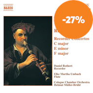 Produktbilde for Telemann: Recorder Concertos (CD)