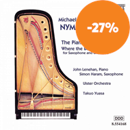 Produktbilde for Nyman: The Piano Concerto & Where the Bee Dances (CD)