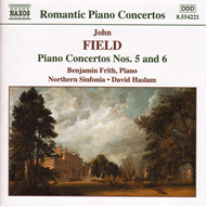 Produktbilde for Field: Piano Concertos Nos 5 & 6 (CD)