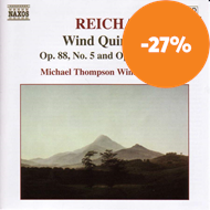 Produktbilde for Reicha: Wind Quintets, Op 88 No 5 and Op 99 No 1 (CD)