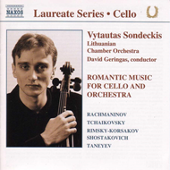 Produktbilde for Romantic Cello Works (CD)
