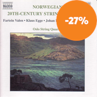 Produktbilde for 20th Century Norwegian String Quartets (CD)