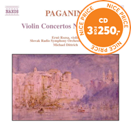 Produktbilde for Paganini: Violin Concertos Nos. 3 & 4 (CD)