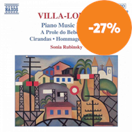 Produktbilde for Villa-Lobos: Piano Works, Vol 4 (CD)