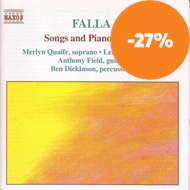 Produktbilde for Falla: Songs & Piano Music (CD)