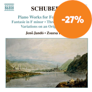 Produktbilde for Schubert: Piano Works for Four Hands (CD)
