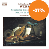 Produktbilde for Weiss: Sonatas for Lute, Vol. 4 (CD)