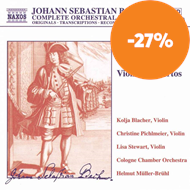 Produktbilde for Bach: Violin Concertos (Cpte Orch Wks Volume 2) (CD)