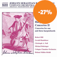 Produktbilde for Bach: Harpsichord Concertos, Volume 2 (CD)