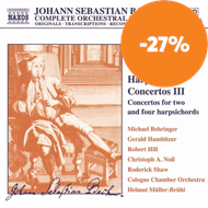 Produktbilde for Bach: Harpsichord Concertos, Volume 3 (CD)