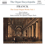 Produktbilde for Franck: The Great Organ Works, Volume 1 (CD)