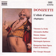 Produktbilde for Donizetti: L'elisir d'amore (Highlights) (CD)