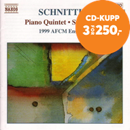 Produktbilde for Schnittke: Chamber Works (CD)