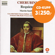 Produktbilde for Cherubini: Requiem; Marche funèbre (CD)