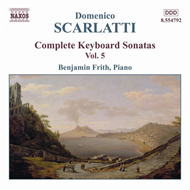 Produktbilde for Scarlatti: Complete Keyboard Sonatas, Vol 5 (CD)