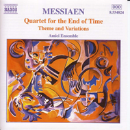 Produktbilde for Messiaen: Quartet for the End of Time (CD)