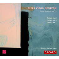 Produktbilde for Bentzon: Piano Sonatas, Vol 2 (CD)