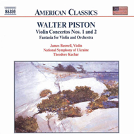 Produktbilde for Piston: Violin Concertos Nos 1 & 2; Fantasia (CD)
