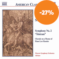 Produktbilde for Templeton Strong: Symphony No 2; Chorale on a theme of Hans Leo Hassler (CD)