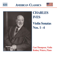 Produktbilde for Ives: Violin Sonatas, Nos 1-4 (CD)