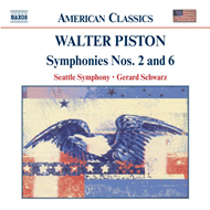 Produktbilde for Piston: Symphonies Nos 2 and 6 (CD)