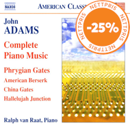 Produktbilde for Adams: Complete Piano Music (CD)