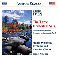 Produktbilde for Ives: Three Orchestral Sets (CD)