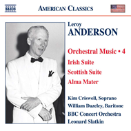 Produktbilde for Anderson: Orchestral Music, Vol 4 (CD)
