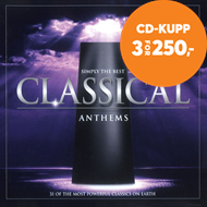 Produktbilde for Simply the Best Classical Anthems (CD)