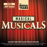 Produktbilde for The Musical Years - Magical Musicals (USA-import) (10CD)