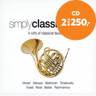 Produktbilde for Simply Classical Gold (4CD)