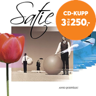 Produktbilde for Satie: Gnossiennes; Gymnopédies (CD)