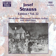 Produktbilde for Strauss, J: Josef Strauss Edition Vol 22 (UK-import) (CD)