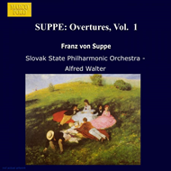 Produktbilde for Suppé: Overtures, Volume 1 (UK-import) (CD)