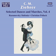 Produktbilde for Ziehrer: Selected Dances and Marches Vol 4 (CD)