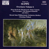Produktbilde for Suppe: Overtures, Vol. 6 (UK-import) (CD)
