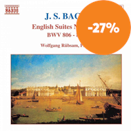 Produktbilde for Bach: English Suites Nos 1,2 and 3 (CD)