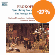 Produktbilde for Prokofiev: Symphony No 4 (rev vers); Prodigal Son - Suite (CD)