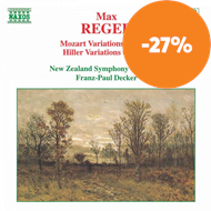Produktbilde for Reger: Orchestral Variations (CD)