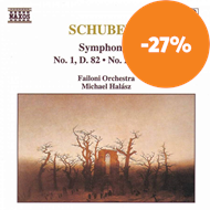 Produktbilde for Schubert: Symphonies Nos 1 and 2 (CD)