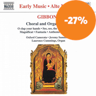 Produktbilde for Gibbons: Choral and Organ Music (CD)