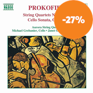 Produktbilde for Prokofiev: Chamber Works (CD)