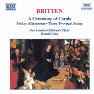 Produktbilde for Britten: A Ceremony of Carols (CD)