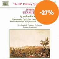 Produktbilde for Stamitz: Symphonies, Volume 1 (CD)